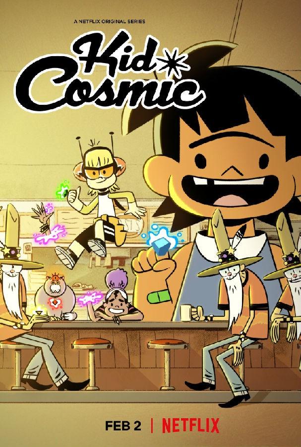 [宇宙小子 Kid Cosmic 第一季][全10集][英语中字]百度云|1080P免费下载