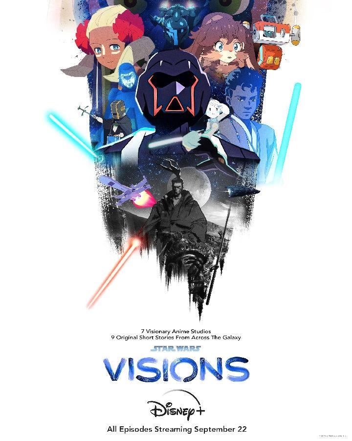 [星球大战:幻象 Star Wars: Visions 第一季][全09集][英语中字]4K|1080P高清